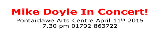 Mike Doyle In Concert! 